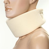 Wholesale Neck Collar Support - Wholesale- 1 pcs Soft Firm Foam Cervical Collar Support Shoulder Press Relief Pain Neck Brace S M L collar neck protection orthosis