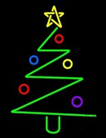 Christmas Trees Neon Sign Custom Handmade Real Glass Store Bar KTV Club Motel Party Display Home Decorataion Window Art Neon Signs 14