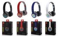 Wholesale Earphones For Lg Mobile - AAAA quality Bluetooth Headphone Wireless 4.1+EDR Headband Earphone Folding With MF TF for Apple Samsung HTC LG Mobile Phone