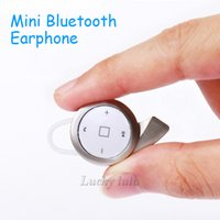 Wholesale Tablet Q - A8 Universal mini stereo CSR 4.0 bluetooth headset earphone headphone mini V4.0 wireless bluetooth handfree for iPhone Samsung tablet High q