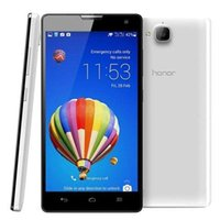 Wholesale Huawei Gsm Phones - Huawei Honor 3C 5.0Inch IPS Screen 1G RAM 8G ROM Android4.2 Quad Core GSM Cell Phone