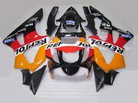 Wholesale Honda Cbr929rr Repsol Fairing - New motorcycle fairing kit for HONDA CBR900RR 929 2000 2001 CBR900 929RR CBR929 00 01 CBR929RR bodywork set red orange black repsol