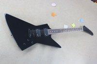 Wholesale Ex Guitar - Free shipping newfirehawkLTD EX-401DX Electric Guitar Transparent Black Alien guitar