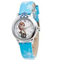 Wholesale Princess Watches - Free Shipping Cartoon princess girl pink doll Watch Children Kids Girls Boys Students Quartz Wristwatches