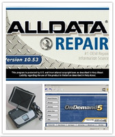 Wholesale 2017 Newest Auto Repair all data mitchell on demand alldata v10 in1 car diagnostic laptop software in cf19 toughbook