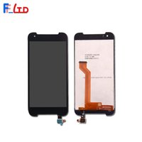 Wholesale cell phone digitizer assembly resale online - OEM Cell Phone Panel for HTC Desire LCD Display Digitizer with Touch Screen Full Assembly Tested