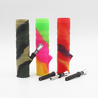 Wholesale Drip Tips Pipe - portable shape silicone mouthpiece cover rubber drip tip silicon cap for smoking bong glass water pipe dab jar dabber wax. unbreakable.