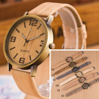 Wholesale Wholesale Fashion Watches For Women - Luxury watches the latest Wristwatches fashion watch wood watches for men and women in Roman multicolor casual fashion watches 777