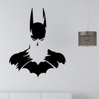 Wholesale Batman Movie Poster - New Batman SUPERHERO Vinyl Wall Art Sticker Poster Wallpaper Childrens Themed Room Decals Wall Stickers Free Shipping