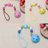 Personalized baby gifts wholesale price comparison buy cheapest latex free s wooden 2017 child infant baby pacifier wood clips holders diy personalized baby gift negle Choice Image