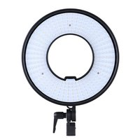 anillo de foto led al por mayor-Al por mayor-DVR-300DVC Photo Studio Ring LED Video Panel de la lámpara CRI 95+ Temperatura de color 3000K-7000K Iluminación ajustable de la fotografía