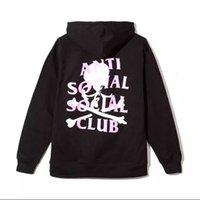 Wholesale Skeleton Tracksuit - anti social social club hoodie men kanye west pablo sweatshirt fleece ASSC tracksuits Skull Mastermind Skeleton hoodies