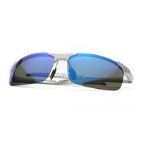 lunettes de soleil vue de nuit achat en gros de-2018 Nouveau design polarisé Hommes lunettes de soleil polarisées lunettes de vue de nuit conduite de voiture lunettes de soleil hommes sports de plein air pour la pêche en cours d'exécution de golf