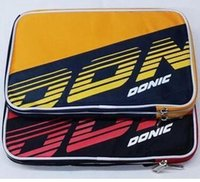 Wholesale Table Cover Setting - Free shipping Donic 66086 table tennis bag single set table tennis racket cover