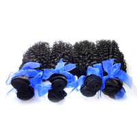 Wholesale Factoty Price Remy Brazilian Hair 30 Pacotes de Extensões Human Brazilian Brazilian Curly Hair Weave 12-30 inch Available Black