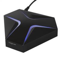 телевизионные интернет-боксы оптовых-Предпродажная утюг интернет коробка MAGICSEE для ТВ коробка Amlogic S905X Андроид 6.0 коробки TV 2 ГБ 16 ГБ 2.4 г WiFi 4K и H. 265 в HDMI2.0 лучшей Интернет-ТВ окно