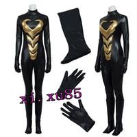 costumes de fourmis achat en gros de-Le plus récent Avengers Ant-Man WASP Janet van Dyne Cosplay Costume Justice ligue Super Héros Fait sur commande Adulte N'importe quelle taille