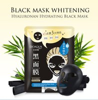 Wholesale Wholesale Water Treatment - Moisturing HyaluronicBlack Facial Mask Keep Water Oil Control Face Mask Remove Blackheads Treatment Mask Skin Care