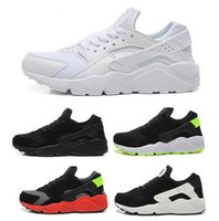 Wholesale Breathing Trainer - 2017 Huaraches ID Custom Breathe Running Shoes For Men Women,Woman Mens navy blue tan Air Huaraches Multicolor Sneakers Athletic Trainers