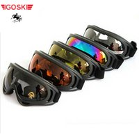 Wholesale Motocycle Glasses - Wholesale- ski man women goggles skiing cycling eyewear sci glass eye protection snowboard alpine motocycle double board equiment windproof