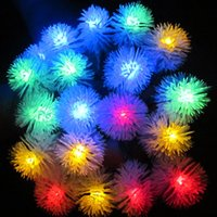 LED Christmas Waterproof Wholesale  Waterproof Led String Light 5M 20 LEDs  Solar Powered String Light