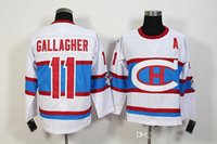 Wholesale classic winter jersey montreal for sale - Group buy Brendan Gallagher White Jersey Hockey Montreal Canadiens Winter Classic Jerseys Jersey Andrei Markov PK Subban