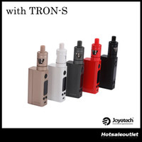 Wholesale Evic Starter - Original Joyetech Evic VTC Mini V2 75W Starter Kit With Tron-S Atomizer   Evic VTC Mini 75W Box Mod