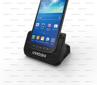 Wholesale Galaxy S4 Cover Charger - hot sale Cover-mate Dual Cradle Desktop Dock battery Charger for Samsung Galaxy S4 Active with Audio out