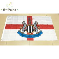 Wholesale C Gardens - England Newcastle United FC (C) 3*5ft (90cm*150cm) Polyester flag Banner decoration flying home & garden flag Festive gifts