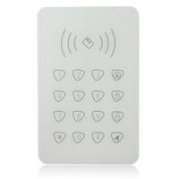 alarmkennwort großhandel-Freeshipping Berührbare RFID-Tastatur für Smart-Home WIFI GSM-Alarm, externe Remote Control Passwort Tastatur für G90B G90E Smart Home Alarm syst