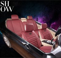 Wholesale Luxury Cover Seats - 2016 Luxury Comfortable Leather Car Seat Cover Fully Enveloped car seat cover use all the year round
