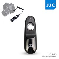 Wholesale Dslr Remote Control - Wholesale- JJC S-PK1 Wire Remote Control Controller Switch Shutter Release for Pentax K-70 K70 DSLR Camera Replaces Pentax CS-310