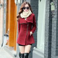 Wholesale Western Coats Plus Size - Wholesale- 2016 Western style Women Jacket Minimalist Temperament Plus Size Long Outwear Coat Slim Thin Women Sweet Windbreaker A193