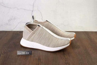 Wholesale Free City Shoes - Free Shipping 2017 Naked x Kith x NMD City Sock 2 Sneakers Man And Woman Sports Running Shoes