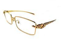 ingrosso bicchieri di telaio chiaro di leopardo-Popular Brand Designer Leopard Occhiali da sole Unisex Full Rimmed Occhiali da sole Uomini Clear Lenses Frame Occhiali da sole Occhiali polarizzati colorati