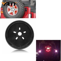 Acura spare cover jeep - Spare Tire Cover Red Light Third rd Brake Light for Jeep Wrangler JK JKU Unlimited Rubicon Sahara