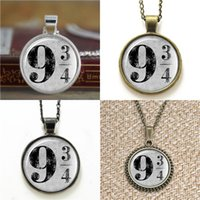 Wholesale grey earrings - 10pcs Platform 9 3 4 HP Inspired Grey Glass Photo Necklace keyring bookmark cufflink earring bracelet