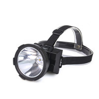 Wholesale Long Range Led Headlight - Wholesale- 10W Rechargeable CREE T6 Head Lamp LED Headlamp , Built-in 4800mAh Li-ion Battery Long Range LED Headlight 1696A