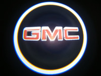 Wholesale Gobo Projectors Led - 2Pc GMC LED Courtesy Ghost Shadow Lights Door Logo Projectors GOBO Logo Courtesy Puddle Lamps