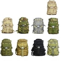Wholesale Molle Backpack Cordura - 40L camping bags waterproof Molle backpack military 3P Tad Tactical Backpack assault travel bag for men cordura 2pcs Free DHL Fedex