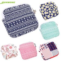 Wholesale Towels Cosmetic Bag - Wholesale- cosmetic bag Best Gift Women Girl Cute Sanitary Pad Organizer Holder Napkin Towel Convenience Bags dEC8