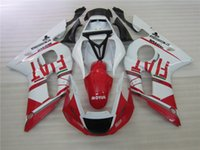 Wholesale Yzf R6 Fiat - New TOP quality motorcycle ABS Fairing Kits 100% Fit For YAMAHA YZF-R6 98-02 YZF600 1998 1999 2000 2001 02 YZF R6 nice style white red FIAT