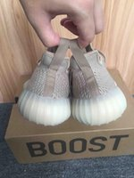 CP9366 Boost 350 V2 DA9572 Dark Green Hollow Kanye West SPLY-350 Boost Éclairage LED Kanye SPLY Chaussures Taille 12 Avec Boîte