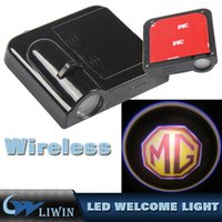 Wholesale Door Laser Projection - 3W C ree Led Decoration Projection Welcome Logo Light Laser LED Shadow Light For M G