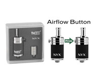 Wholesale Yocan NYX Atomizer Dry Herb Wax Vaporizer Bottom Airflow Control Pure Metal with Quartz Dual Coil For Vape Box Mods Ecigs Original