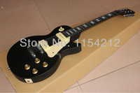 Wholesale Maple Finish - Wholesale- free shipping:Customisde model do service electric guitar with luxury decale black color finished