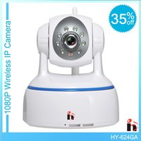 Wholesale Care Sd - H WiFi Wireless IP Security camera1920*1080P P2P Pan Tilt Two Way Audio Onvif IR-Cut SD TF Card care baby by iphone Andorid PC