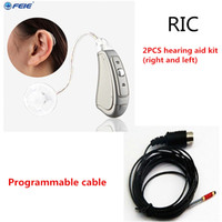 Wholesale Ear Digital Hearing Aid - 2017 New products ear care sound digital Programmable ear hearing machine Hearing Aid RIC Type Supplier Drop Shipping MY-19