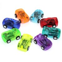 Wholesale Wheels For Toy Cars - 5pcs Baby Toys Pull Back Cars Plastic Cute Toy Cars for Child Wheels Mini Car Model Funny Kids Toy for Boys Random Color