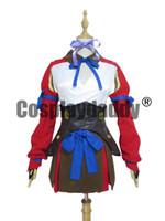 tenue de combat achat en gros de-Kabaneri De La Forteresse De Fer Mumei Filles Halloween Costume De Costume De Bataille